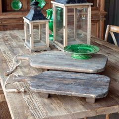 Footed Cutting Board Riser Set of 2