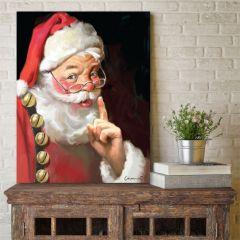 Classic Santa Claus Wall Art