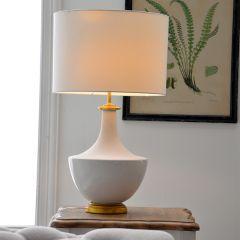 Two Tone Ceramic Lamp