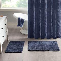 Cotton Tufted Bath Rug Set 2 Pieces