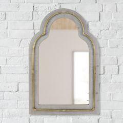 Elegant Arch Top Wall Mirror