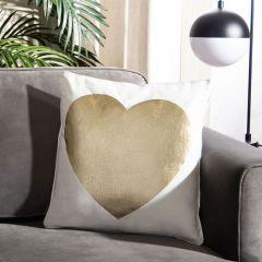 Heart Of Gold Accent Pillow