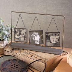 Hanging Trio Tabletop Photo Frames