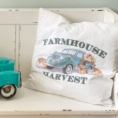Farmhouse Harvest Throw Pillow