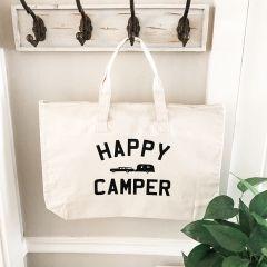 Happy Camper Canvas Bag