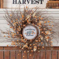 Farmhouse Harvest Hanging Autumn Ornament Set of 6