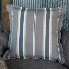 Country Chic Stripe Throw Pillow