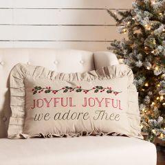 Joyful Joyful Accent Pillow