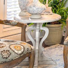 Manor House Round Accent Table
