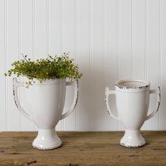 Trophy Style Decorative Urn