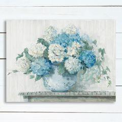 Hydrangea In Vase Wall Art