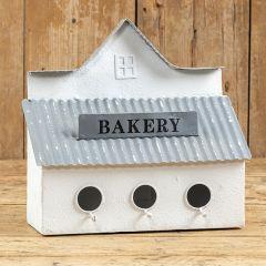 3 Hole Farmhouse Bakery Birdhouse