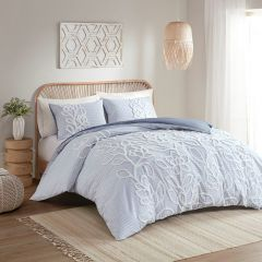 3 Piece French Farmhouse Country Comforter Set
