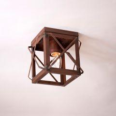 Rustic Flush Mount Ceiling Light