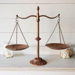 Decorative Farmhouse Balance Scale