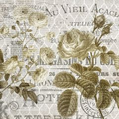Old World Floral Wall Art I
