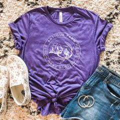 AFH Logo Tee Shirt Purple