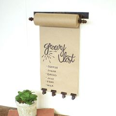 Small Hanging Note Roll Board