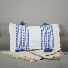 Pretty Pattern Tasseled Rectangular Pillow Cover Set of 2