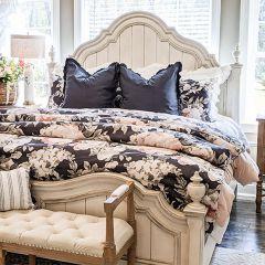 8 Piece Patterned Cotton Reversible Comforter Set