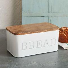 Enamel Coated Bread Box
