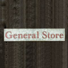 General Store Wall Sign