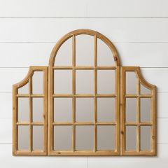 Windowpane Panel Mirror