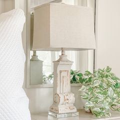 Stately Architectural Table Lamp Single