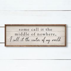 Middle of Nowhere Wall Art