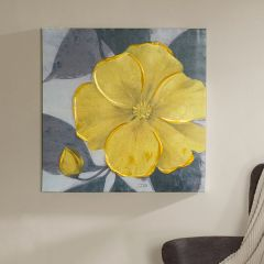 Bright Bloom Canvas Wall Art