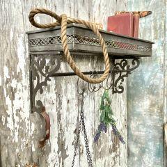 Scroll Edge Hook Rack Shelf
