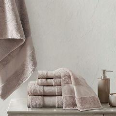 Turkish Cotton Bath Towel Set 6 Pieces