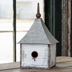Steepled Metal Birdhouse