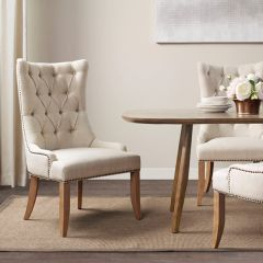Tufted Back Accent Chair