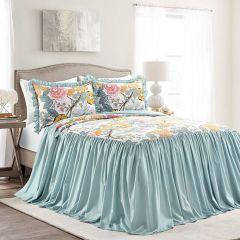 Spring Florals Bedspread Set