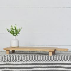 Footed Wood Serving Board