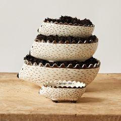Hedgehog Ceramic Measuring Cup Set of 4