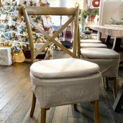 Skirted Chair Cushion