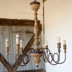 Grand Country Chic Charlotte Chandelier