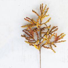 Decorative Berry Branch Spray Set of 6
