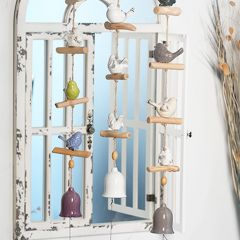 Whimsical Bird Wind Chimes Set of 3