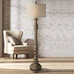 Old World Elegance Floor Lamp