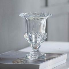 Elegant Crystal Urn Vase Medium