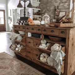 Wooden Pantry Counter