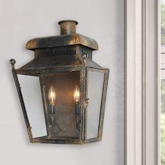 Rustic Wall Sconce Lantern