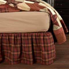 Country Plaid Bed Skirt