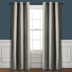 Smoky Room Darkening Curtain Panel Set of 2