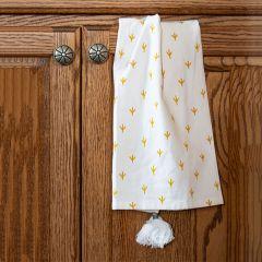 Chicken Track Print Tea Towel Set of 3