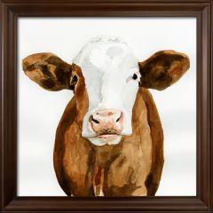 Framed Cow Farmhouse Wall Decor