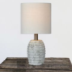 Sculpted Style Table Lamp